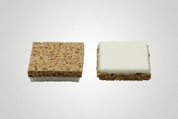 Stapelscheiben Kork/PVC (lose im Karton)