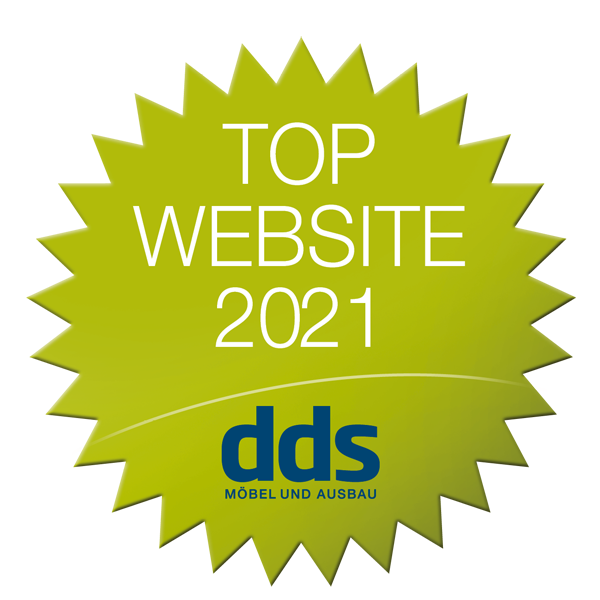 Logo 'dds Top Website 2021'