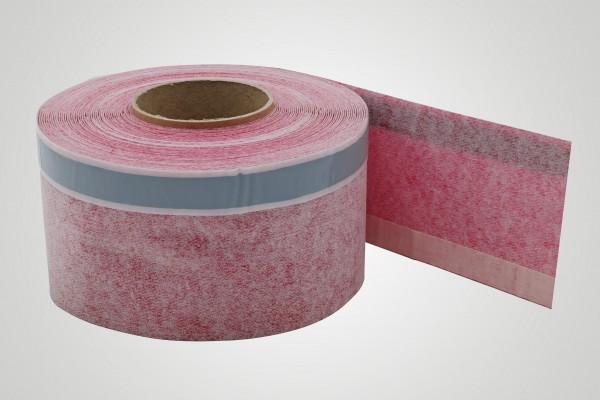 Tecoband 251-3 Fensterdichtband, mit 1 Klebstreifen und wechselseitigem Butylstreifen