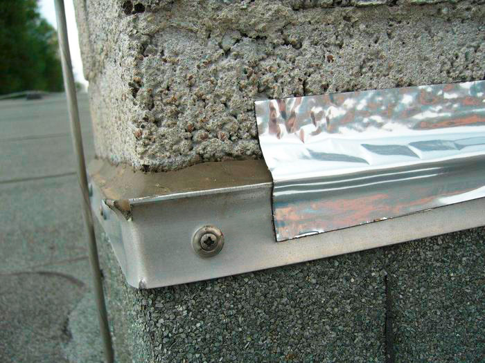 richtige Anwendung von Butylband am Mauerwerk